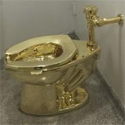 Les toilettes en or !