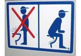 Toilettes à l'allemande
